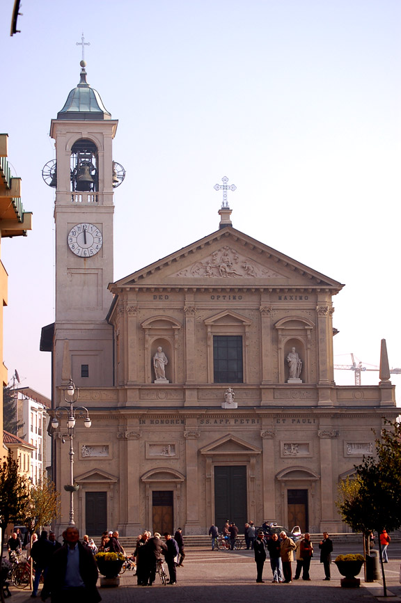 Cathedral in Saronno