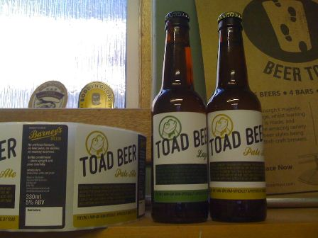 Song, By Toad beer by Barney